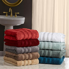 "100% Cotton Luxury Bath Towel 30"" x 58"" - Various Colors"