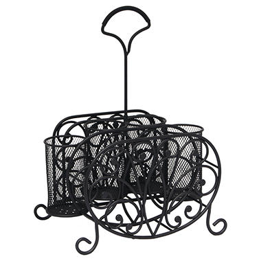 Wrought Iron Picnic Caddy