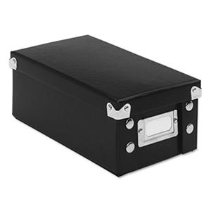 Snap-N-Store Collapsible Index Card File Box