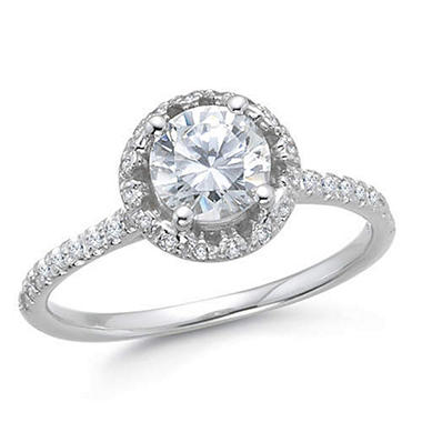 1.13 ct. t.w. Diamond Engagement Ring (H-I, SI2) - Sam's Club