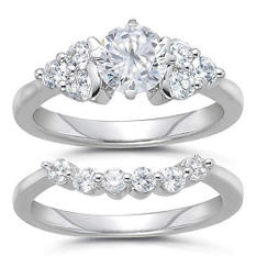 1.83 ct. t.w. Diamond Bridal Ring Set (H-I, SI2)