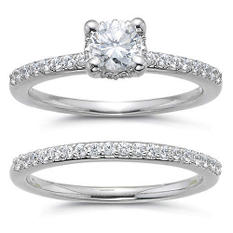 1 ct. t.w. Diamond Bridal Ring Set (H-I, SI2)