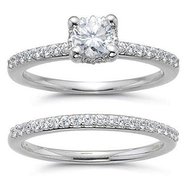 1 ct. t.w. Diamond Engagement Ring Set (H-I, SI2)