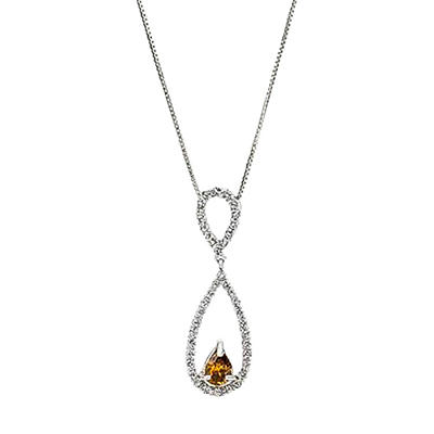 0.75 ct. t.w. Diamond Drop Pendant (H-I,I1)