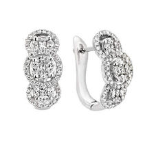 1.33 ct. t.w. Multi-Stone Dia Earrings (H-I, I)