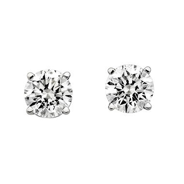 2 ct. t.w. Round Diamond Stud Earrings (H-I, SI2)