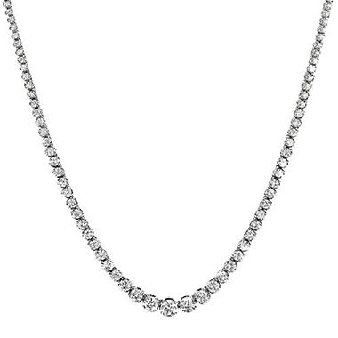 12 ct. t.w. Riviera Diamond Necklace (H-I, I1)