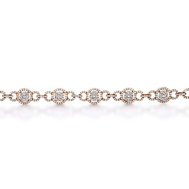 4 ct. t.w. Multi-Stone Diamond Bracelet