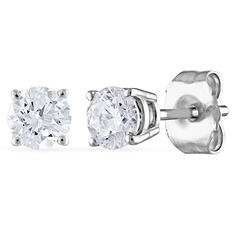 0.50 ct. t.w. Round Diamond Stud Earrings (I, SI2)