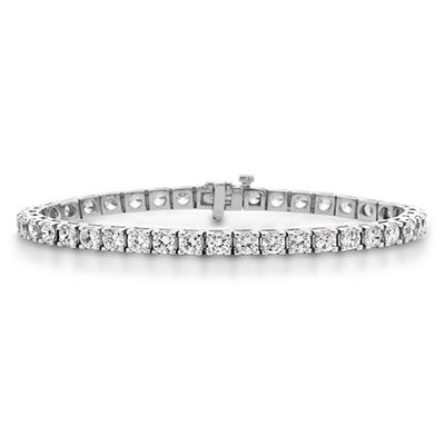 2.95 CT.T.W. Diamond Tennis Bracelet in 14K White Gold (H-I, I1)