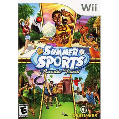 Summer Sports: Paradise Island - Wii