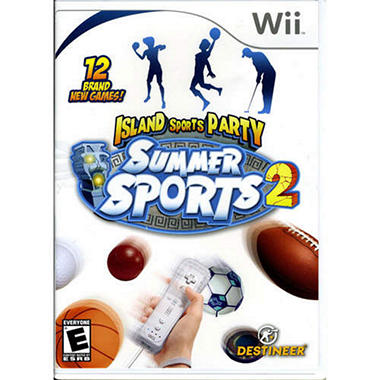 Summer Sports 2: Island Sports Party - Wii