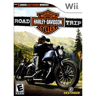 Harley Davidson Road Trip - Wii