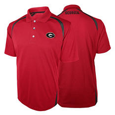 NCAA Georgia Bulldogs, Men's Synthetic Polo