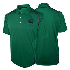 NCAA Notre Dame Fighting Irish, Men's Synthetic Polo