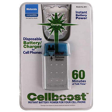 Cellboost™ for Motorola Cell Phone (MT1) - 60 min.