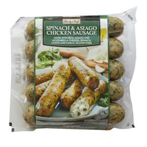 Daily Chef Spinach & Asiago Chicken Sausage  (48 oz.)