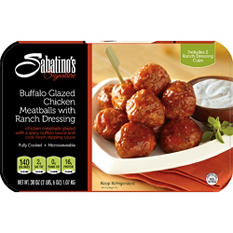 Sabatino's Signature Buffalo Glazed Chicken Meatballs with Ranch Dressing (38 oz.)