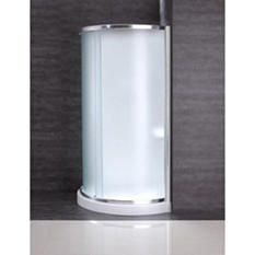 OVE Decors Breeze 31in Shower Kit with PARIS Glass Panels, Walls & Base