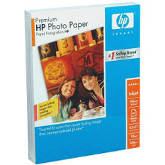 "HP Premium Glossy Photo Paper - 8.5"" x 11"" - 150 Sheets"