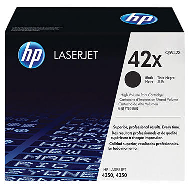 HP 42X LaserJet Toner Cartridge - Black