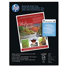 "HP - Brochure Paper, Laser, 40lb, 8-1/2 x 11"", Matte - 150 Sheets"