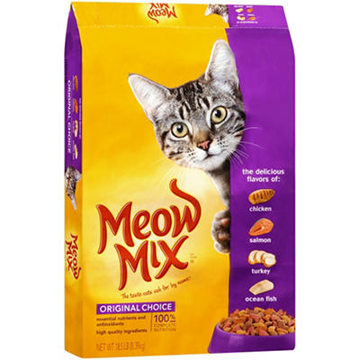 Meow Mix Original Cat Food (18.5 lbs.)