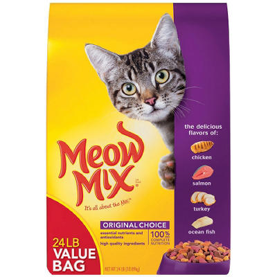Meow Mix Original Choice Dry Cat Food (24 lbs.)