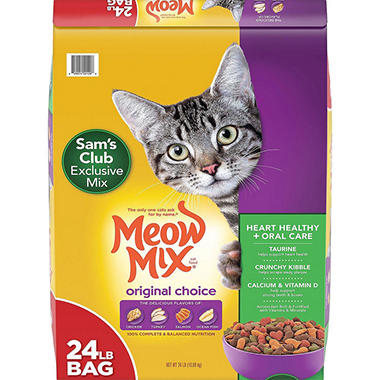 Meow Mix Original Choice Dry Cat Food (24 lbs.)