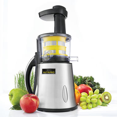 Nutripro� Cold Press Juicer