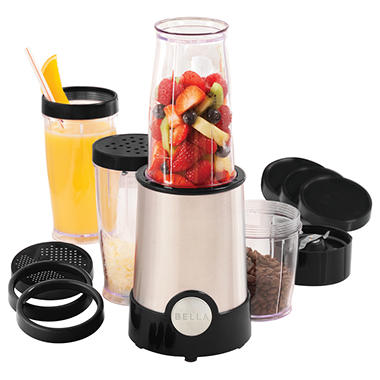 Bella 20 Piece Rocket Blender - Black