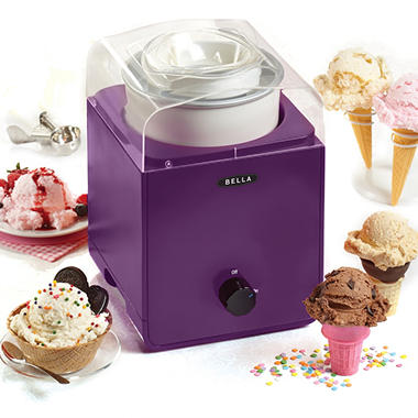 Bella 1.5 QT Ice Cream Maker