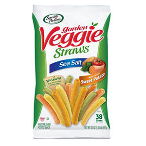 Sensible Portions Sea Salt Veggie Straws with Sweet Potato (20 oz.)
