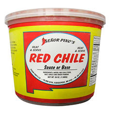 Senor Pino's Red Chile - 56 oz. tub