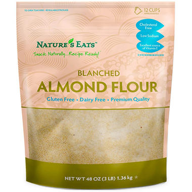 Nature's Eat Blanched Almond Flour (48 oz.) - Sam's Club