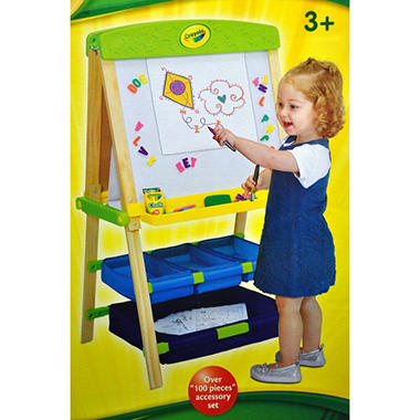 Crayola Draw-N-Store Wood Easel
