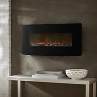 "Muskoka Urbana, 35"" Curved Wallmount Fireplace"