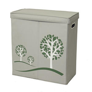 Greenway Collapsible Double-Sorter Hamper