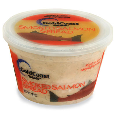 GoldCoast Salads Smoked Salmon Spread - 16 oz.