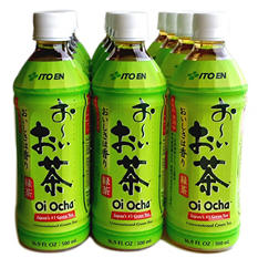 Oi Ocha Green Tea (16.9 oz. bottle, 12 pk.)