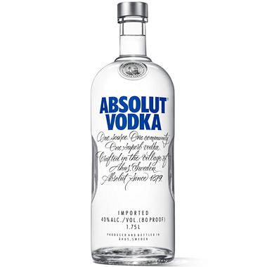 Absolut Vodka Reg - 1.75L