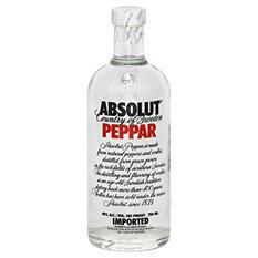 Absolut Peppar Vodka (750 ml)