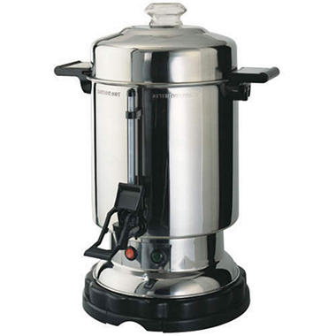 Stainless Steel 60-Cup Electric Coffee Urn