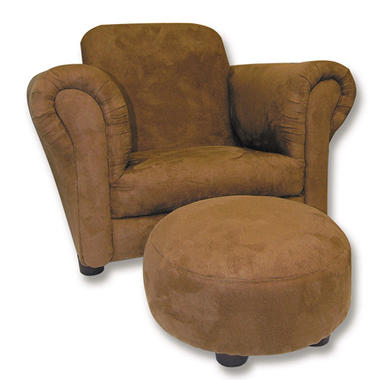Trend Lab Chair and Ottoman - Morgan The Monkey/Chibi Zoo