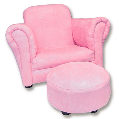 Trend Lab Chair and Ottoman - Cupcake