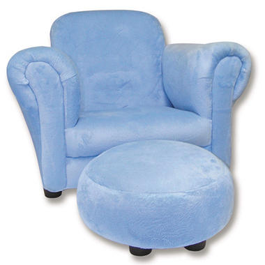Trend Lab Chair and Ottoman - Cowboy Baby