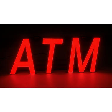 Mystiglo In-Light LED ATM Sign