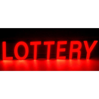 Mystiglo In-Light LED Lottery Sign