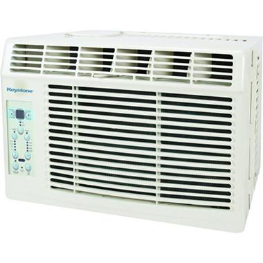 Keystone  5,000 BTU 115-Volt Window-Mounted Air Conditioner