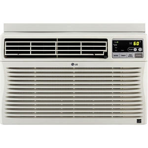 LG Electronics Energy Star 10,000 BTU Window-Mounted Air Conditioner with Remote Control